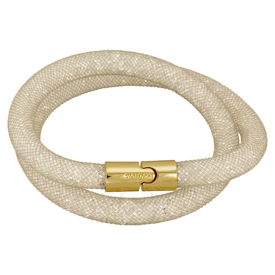 Swarovski Stardust Beige Double Bracelet 5102549