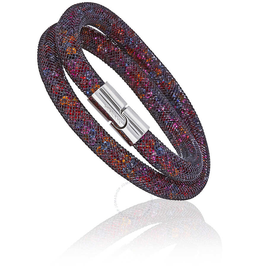 3d4a9c042 Swarovski Stardust Dark Multi Ladies Double Bracelet 5152144 Item No.  5184188