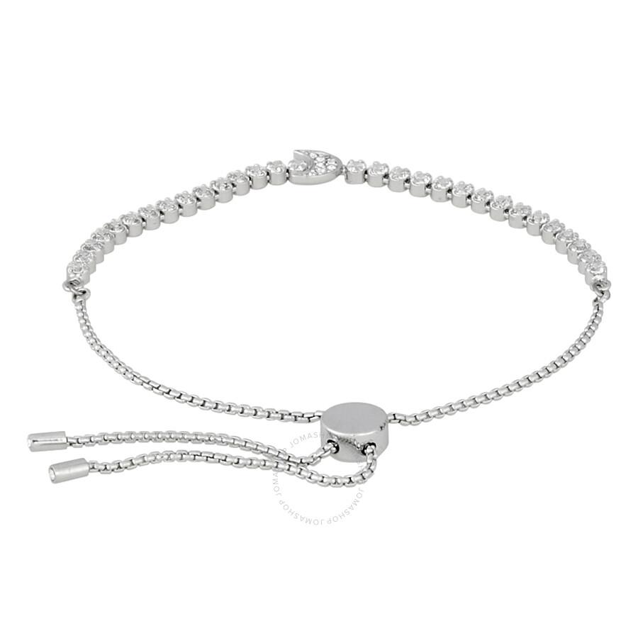 Swarovski Stubtle Moon Bracelet White