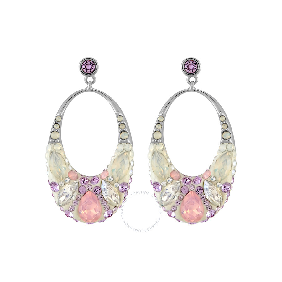 Swarovski vividness pierced earrings 5117672 swarovski for Swarovski jewelry online store