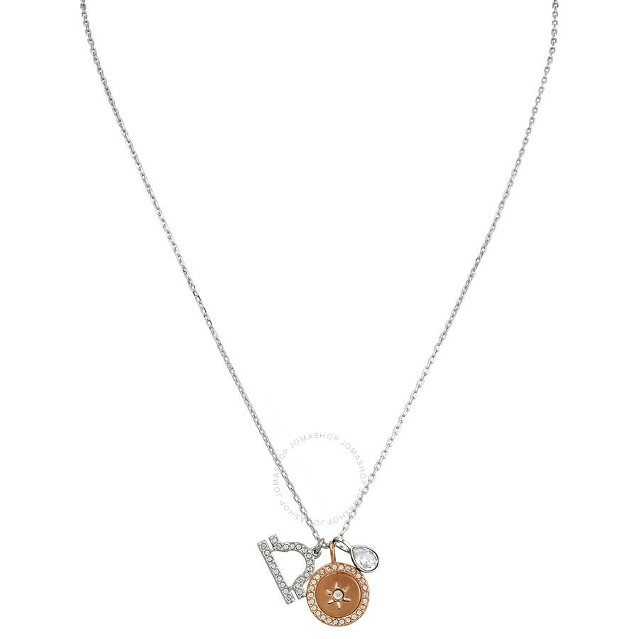Swarovski Zodiac Pendant Libra White Rhodium Plating 5349218
