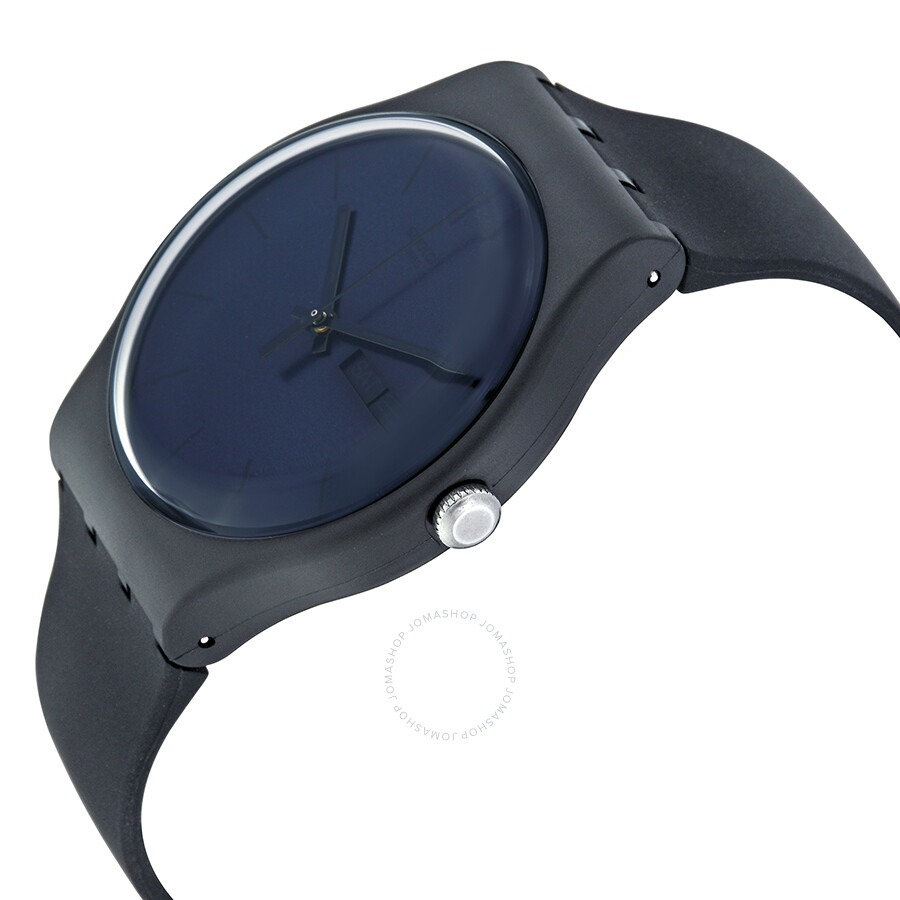 Black Rebel Swatch Watch India