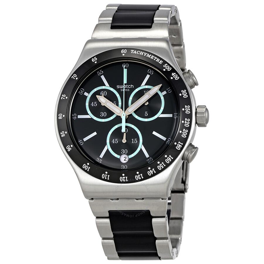 swatch-ironfresh-black-dial-mens-chronog