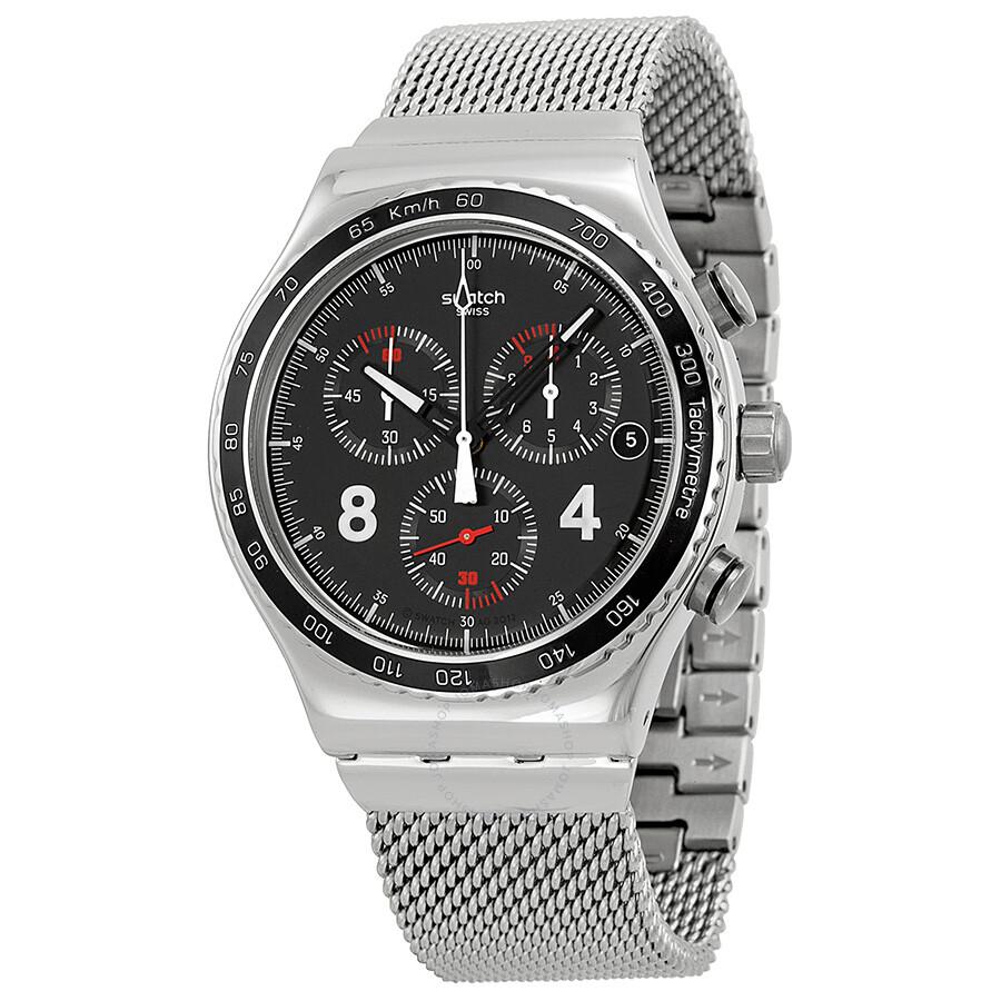 29bebcbb7ae Swatch Irony Blackie Chronograph Men s Watch YVS401G - Irony ...
