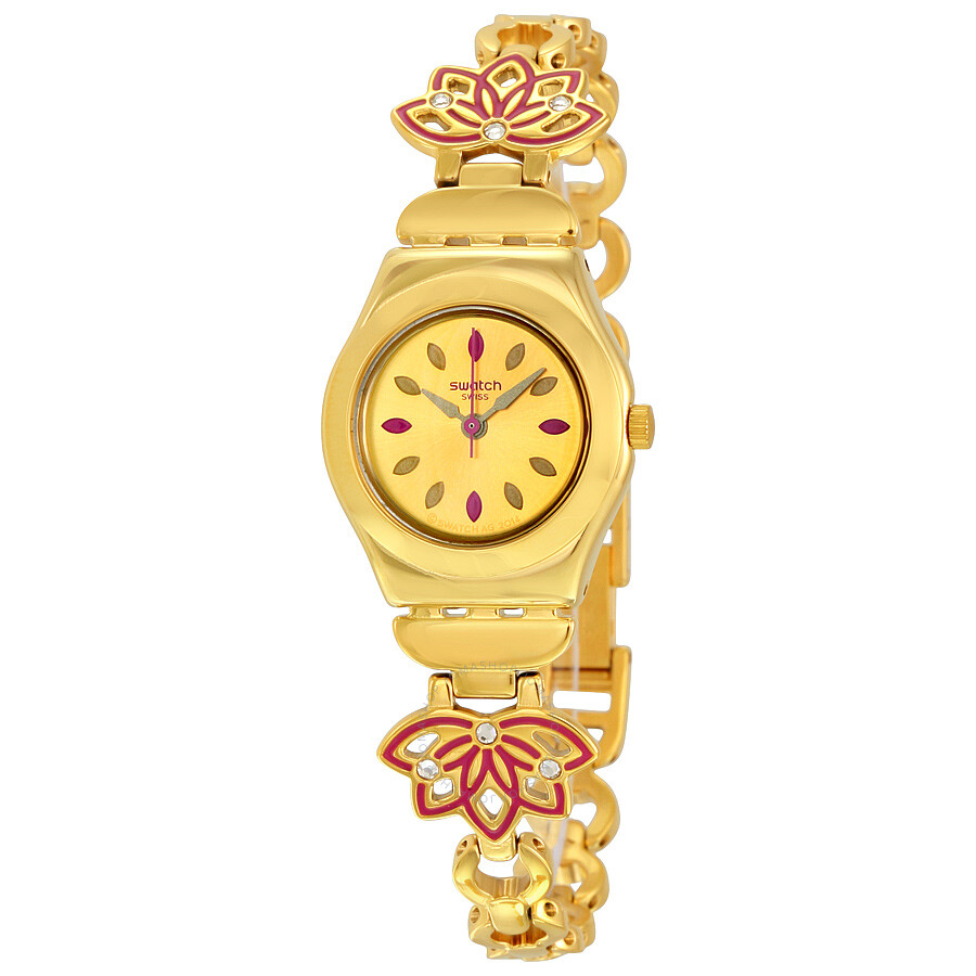swatch irony gold gold tone ysg140g