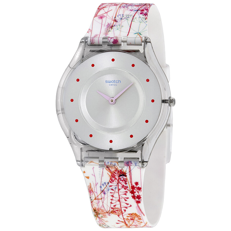Swatch jardin fleuri silicone ladies watch sfe102 skin swatch watches jomashop - Jardin fleuri swatch toulouse ...