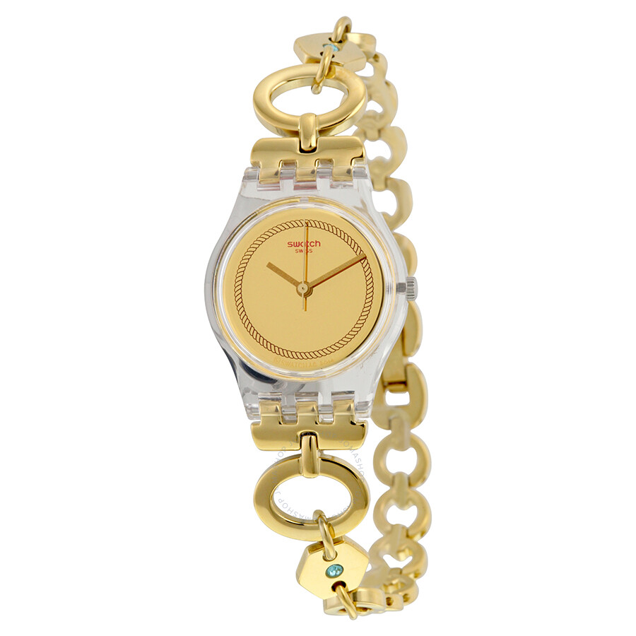 swatch originals elefinja gold yellow gold plated