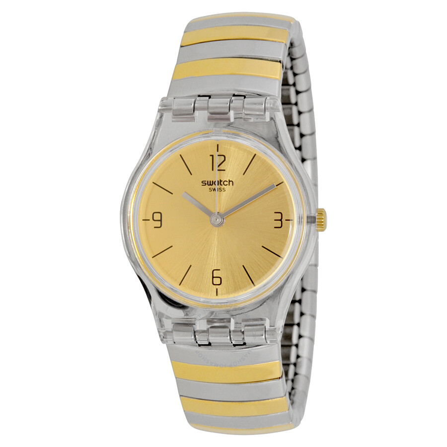 swatch originals enilorac gold two tone expansion