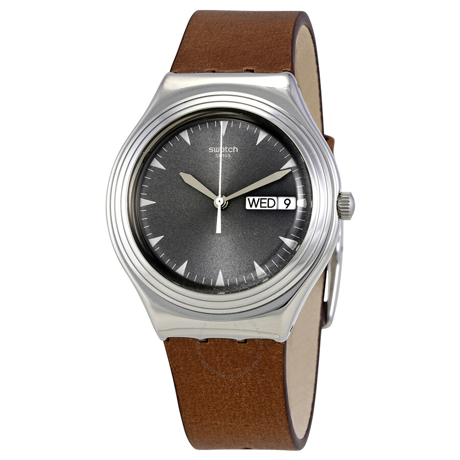 ccb7d2c45b4d Swatch Pain D Epices Grey Dial Unisex Watch YGS778 - Irony - Swatch ...