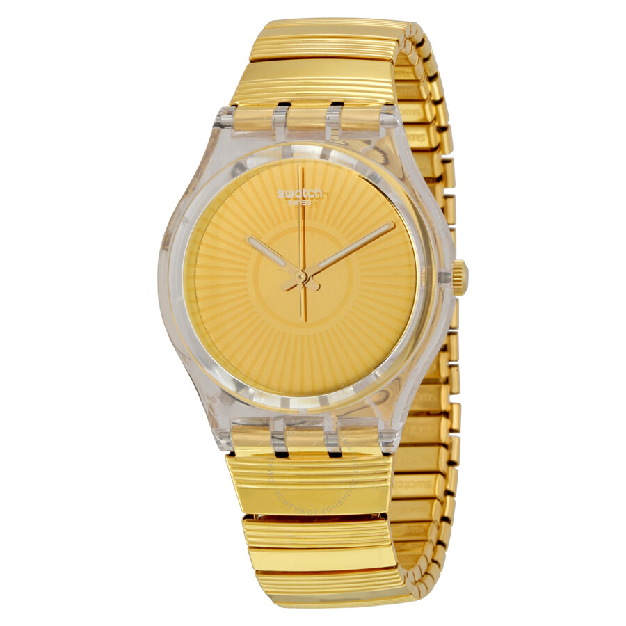 swatch purity gold expandable gold tone