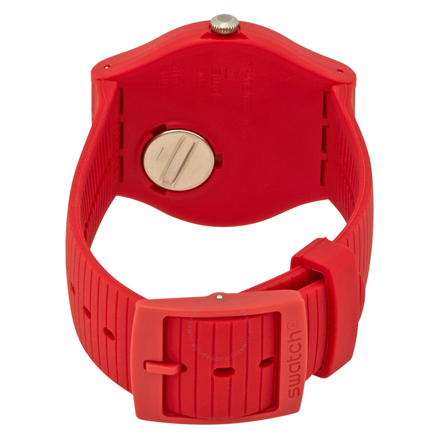 9dae097e282 Swatch XX-Rated White Red Dial Men s Watch SUOR400 - Originals ...