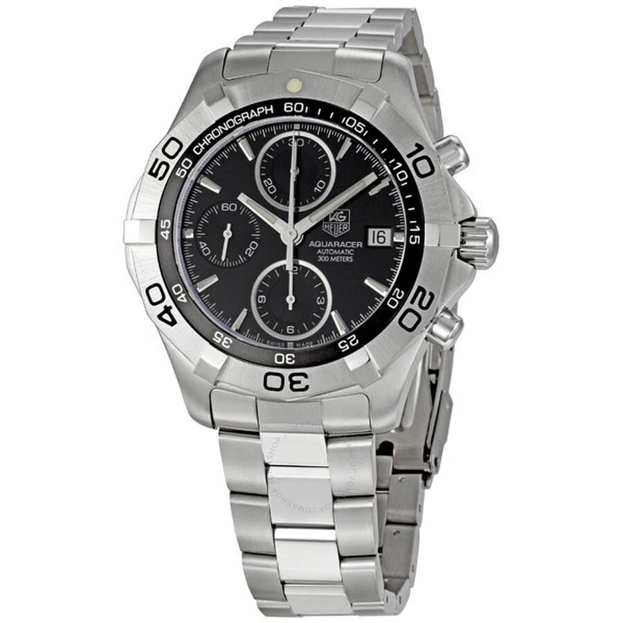 30a9b6ac819 Tag Heuer 2000 Aquaracer Chronograph Men's Watch CAF2110.BA0809 ...