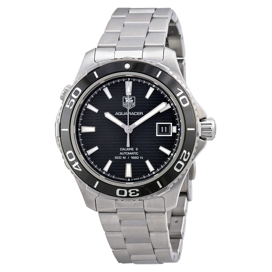 Tag heuer aquaracer 500 automatic men 39 s watch wak2110 ba0830 aquaracer tag heuer watches for Tag heuer automatic