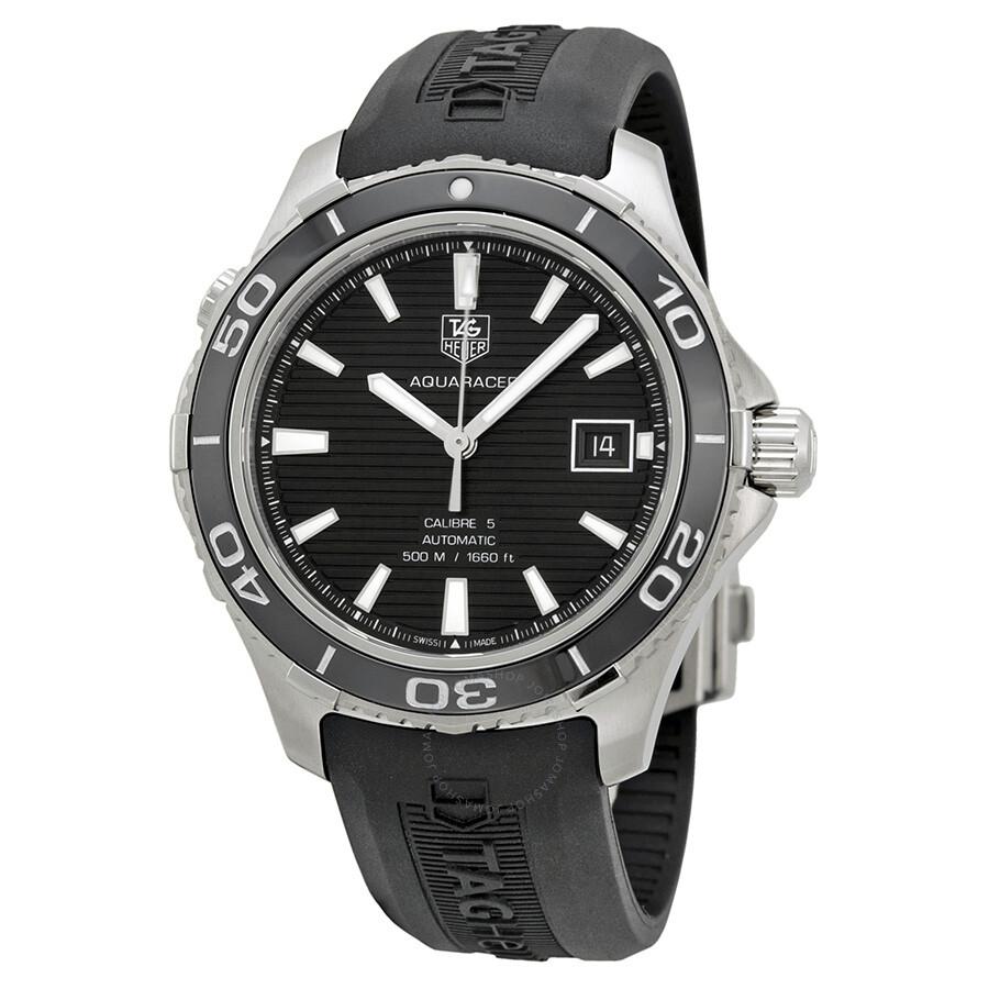 Tag heuer aquaracer 500 automatic men 39 s watch wak2110 ft6027 aquaracer tag heuer watches for Tag heuer aquaracer