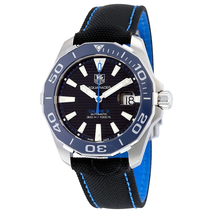 e89ff5494a1 Tag Heuer Aquaracer Automatic Black Dial Men's Watch WAY211B.FC6363 Item  No. THWAY211BFC6363
