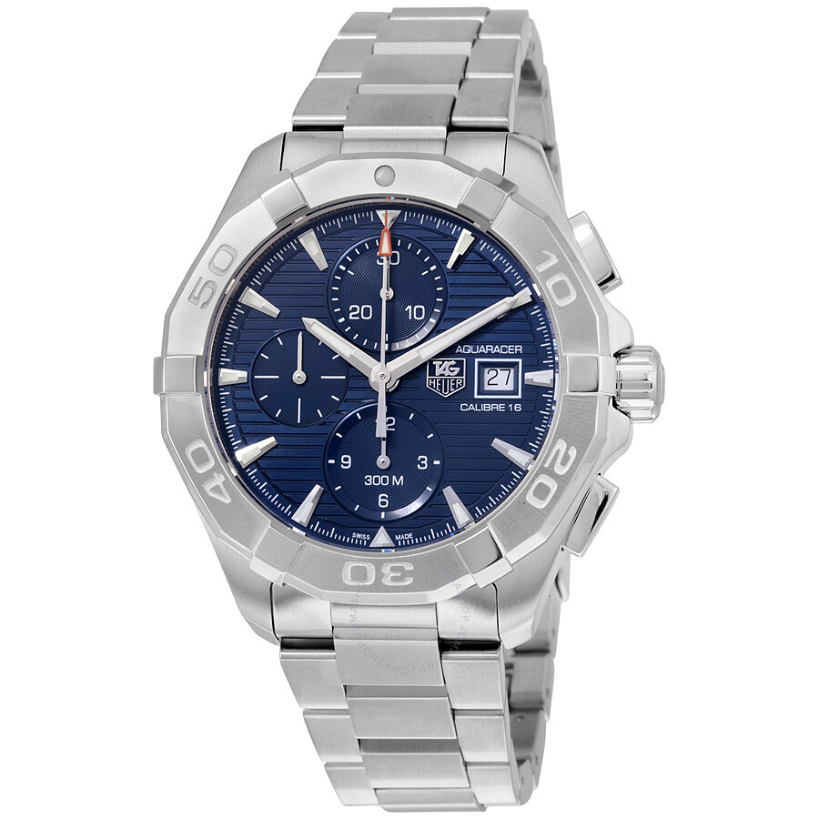 Tag heuer aquaracer automatic chronograph men 39 s watch cay2112 ba0927 aquaracer tag heuer for Tag heuer automatic