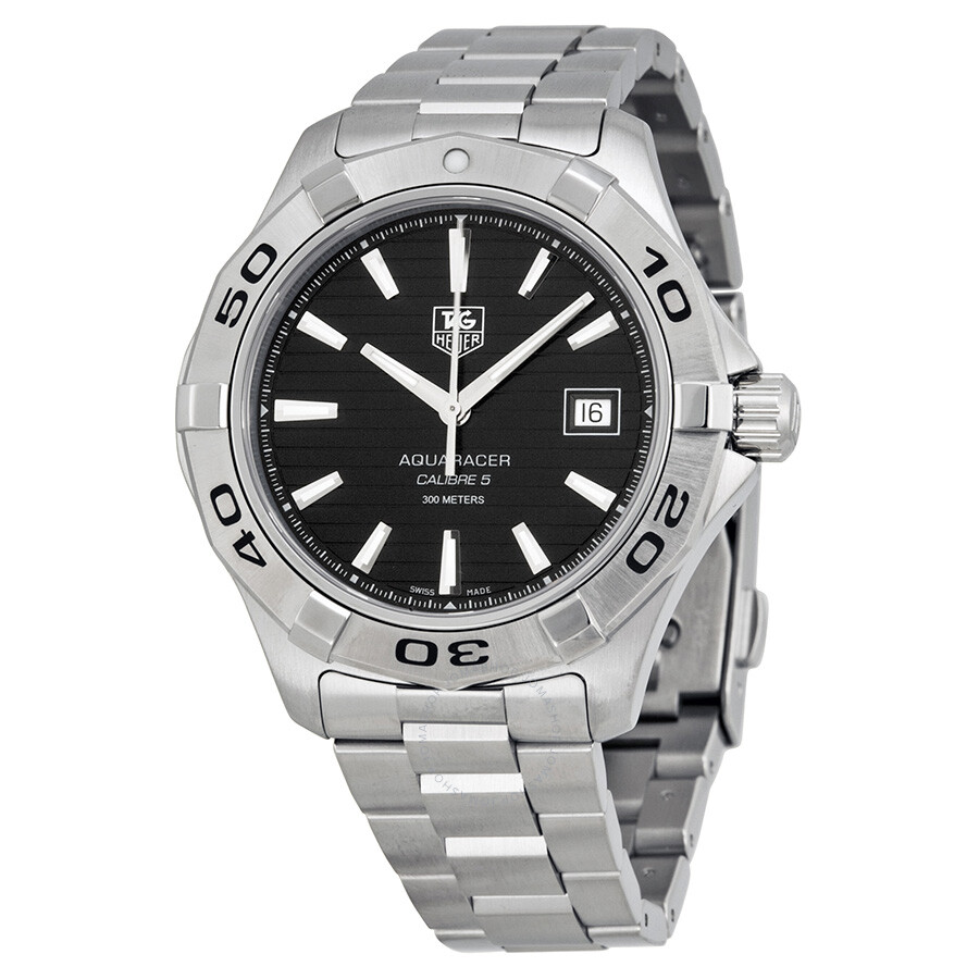 Tag heuer aquaracer automatic men 39 s watch wap2010 ba0830 aquaracer tag heuer watches for Tag heuer automatic