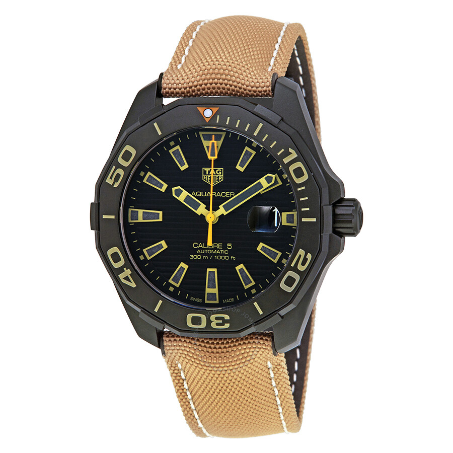 Tag heuer aquaracer automatic men 39 s watch way208c fc6383 aquaracer tag heuer watches for Tag heuer automatic