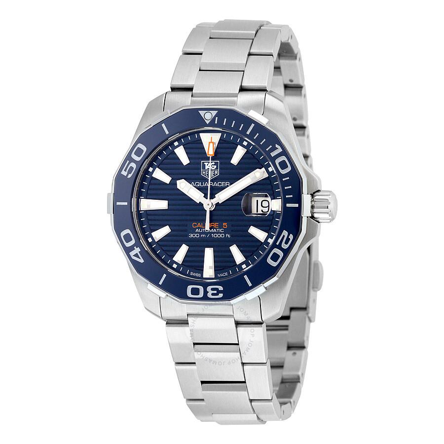 c2ea0eac1188 Tag Heuer Aquaracer Automatic Navy Blue Dial Men s Watch WAY211C ...
