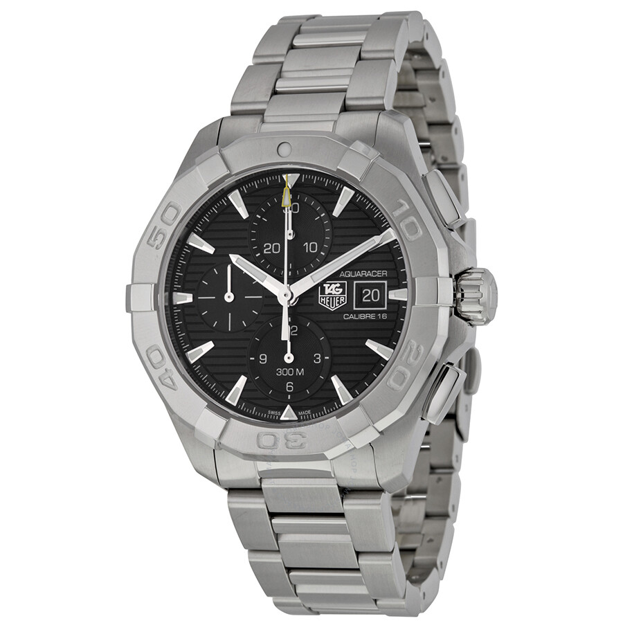 reputable site de555 1aeb5 Tag Heuer Aquaracer Chronograph Automatic Men's Watch CAY2110.BA0925