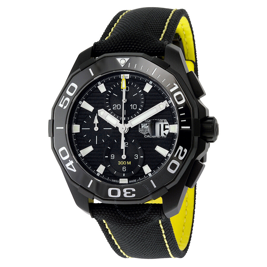 7d8775c61 Tag Heuer Aquaracer Black Dial Automatic Men's Watch CAY218A.FC6361 ...