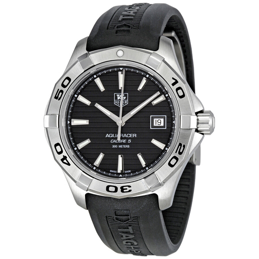 buy online e7024 be137 Tag Heuer Aquaracer Black Dial Automatic Men's Watch WAP2010.FT6027