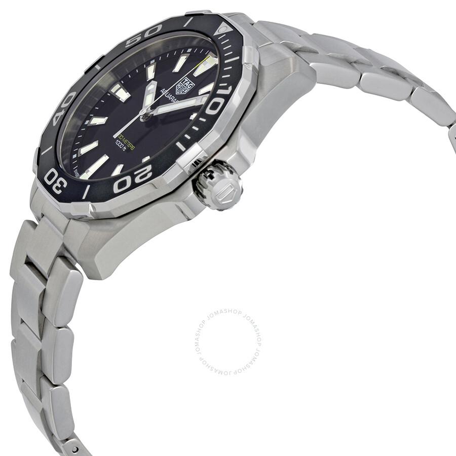 Tag Heuer Aquaracer Black Dial Quartz Men's Watch WAY111A ...