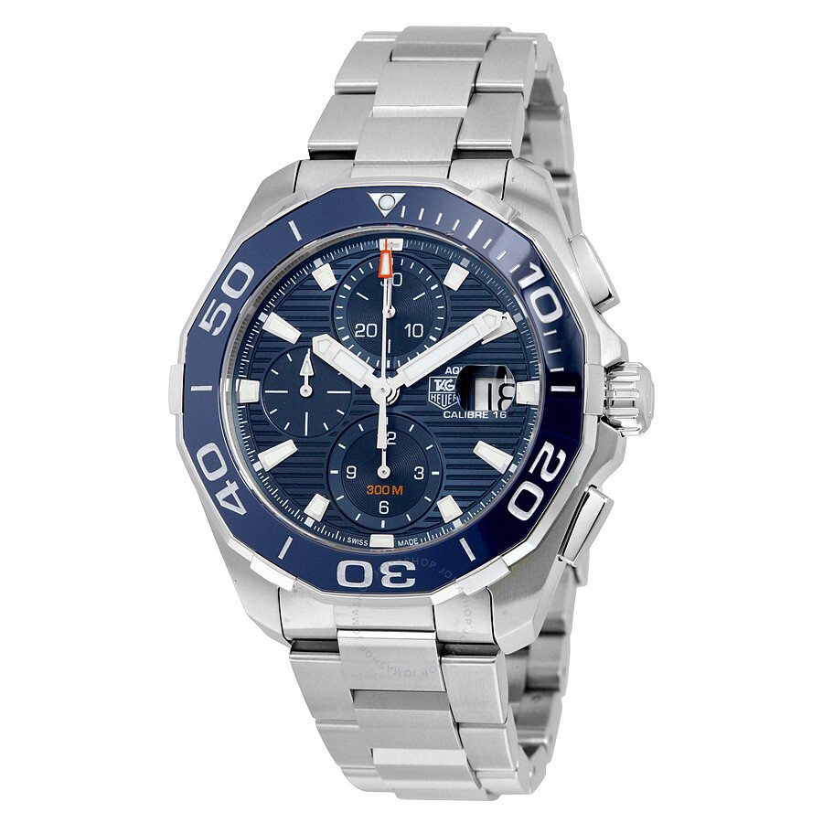 Tag heuer aquaracer chronograph automatic men 39 s watch cay211b ba0927 aquaracer tag heuer for Tag heuer automatic