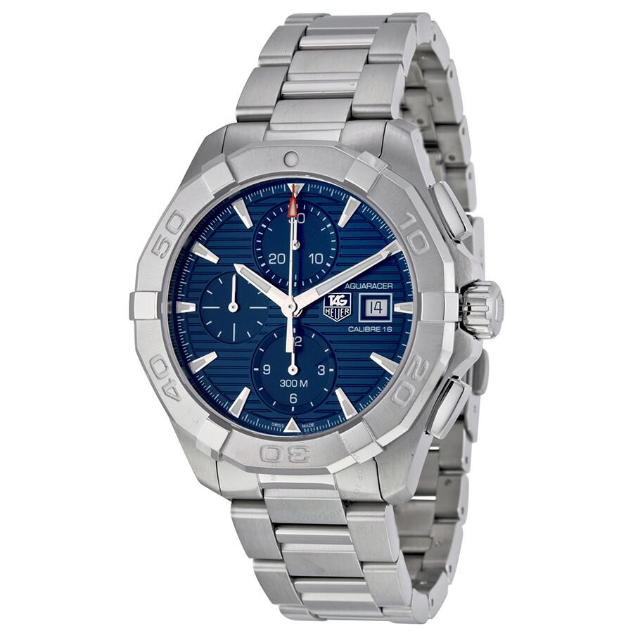 reputable site e7eef 0950b Tag Heuer Aquaracer Blue Dial Men's Watch CAY2112.BA0925