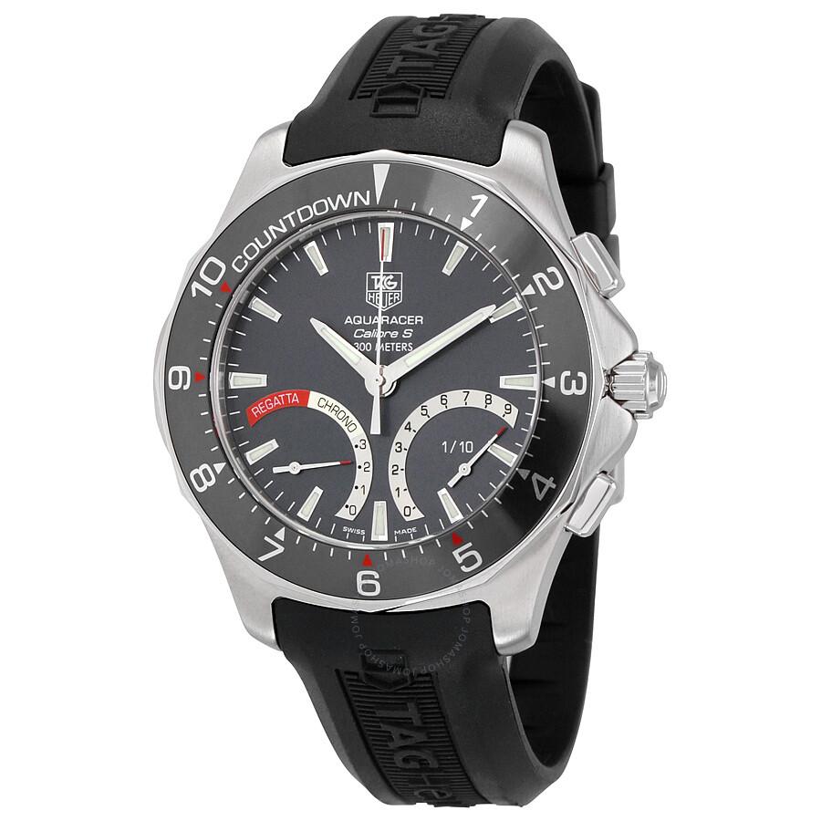 Tag heuer aquaracer calibre s regatta men 39 s watch caf7111 ft8010 aquaracer tag heuer for Tag heuer aquaracer