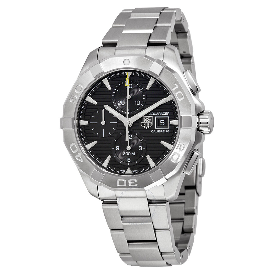 Tag heuer aquaracer chronograph automatic men 39 s watch cay2110 ba0927 aquaracer tag heuer for Tag heuer chronograph