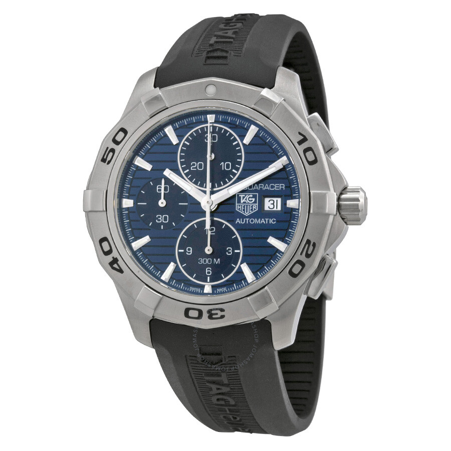 Tag heuer aquaracer chronograph automatic men 39 s watch cap2112 ft6028 aquaracer tag heuer for Tag heuer aquaracer