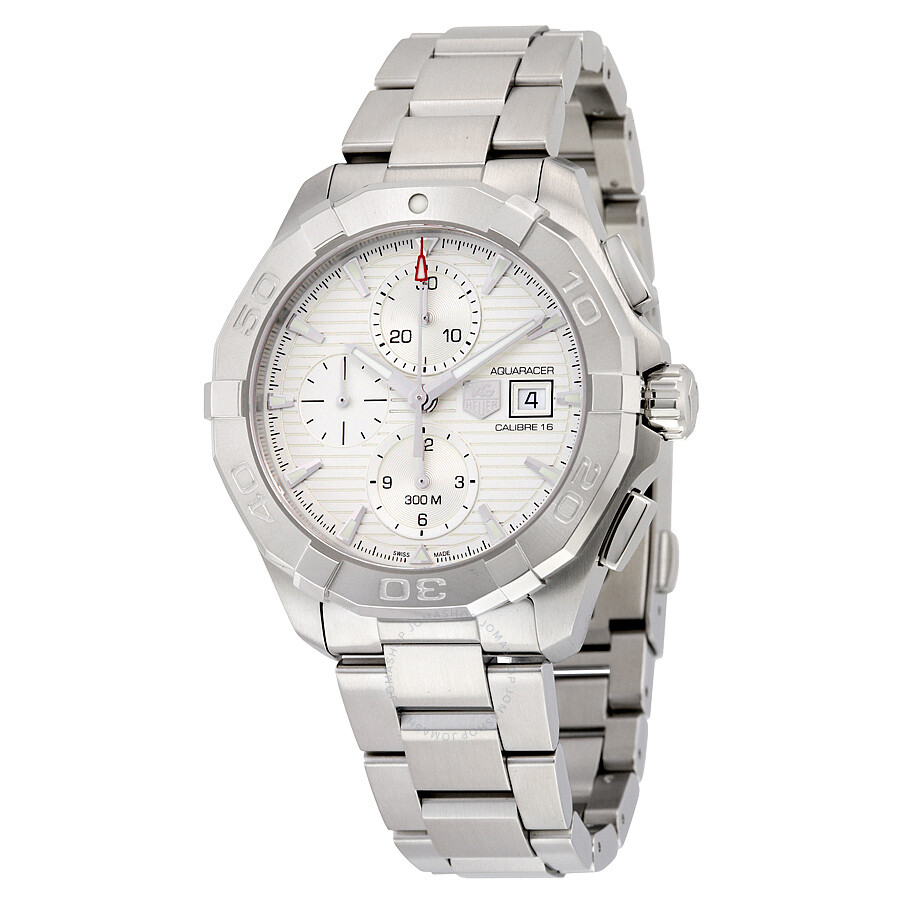 Tag heuer aquaracer chronograph automatic men 39 s watch cay2111 ba0927 aquaracer tag heuer for Tag heuer automatic