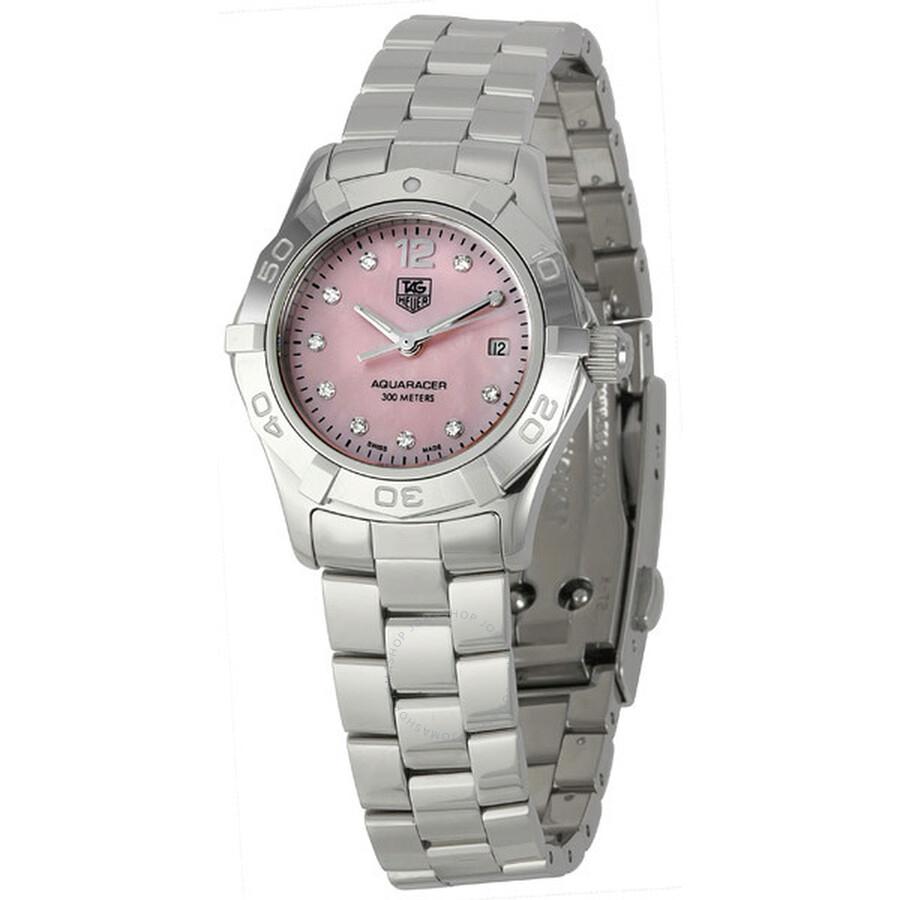 Tag Heuer Aquaracer Diamond MOP Ladies Watch WAF141A.BA0824 ... d651cbf6e1d
