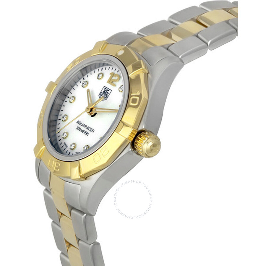 f9237bf1927 Tag Heuer Aquaracer Diamond Two-Tone Ladies Watch WAF1425.BB0825 ...