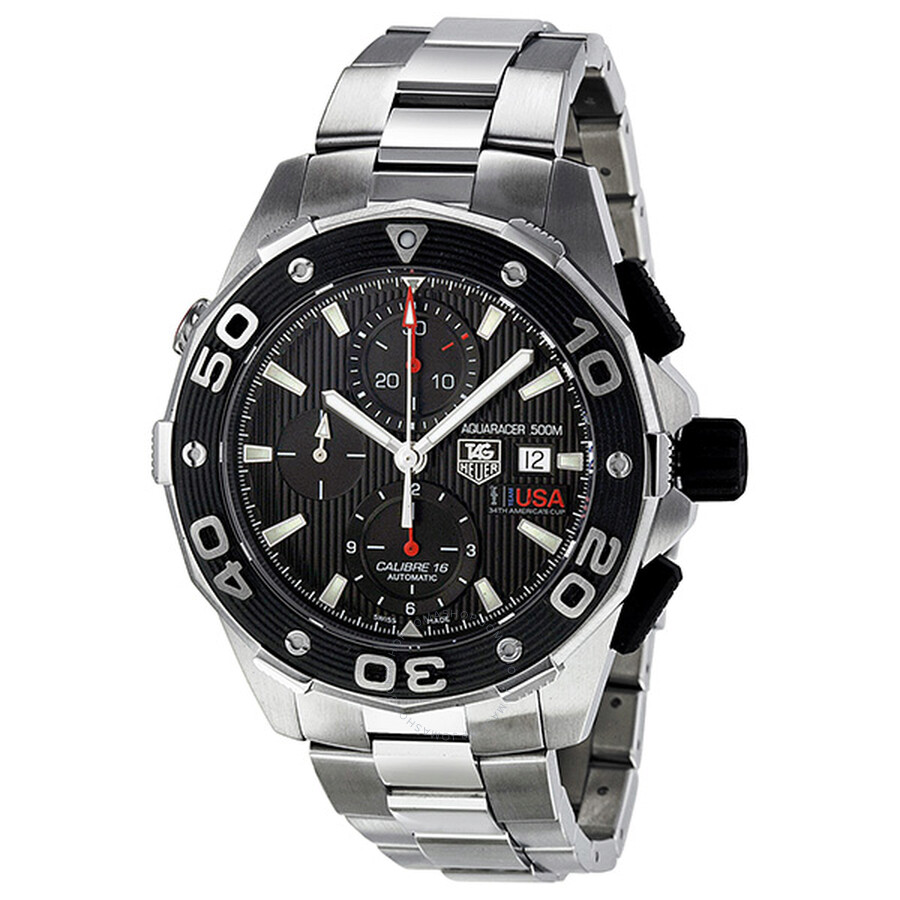 Tag Heuer Aquaracer Limited Edition Ggyc Defender Watch Caj2112 Ba0872
