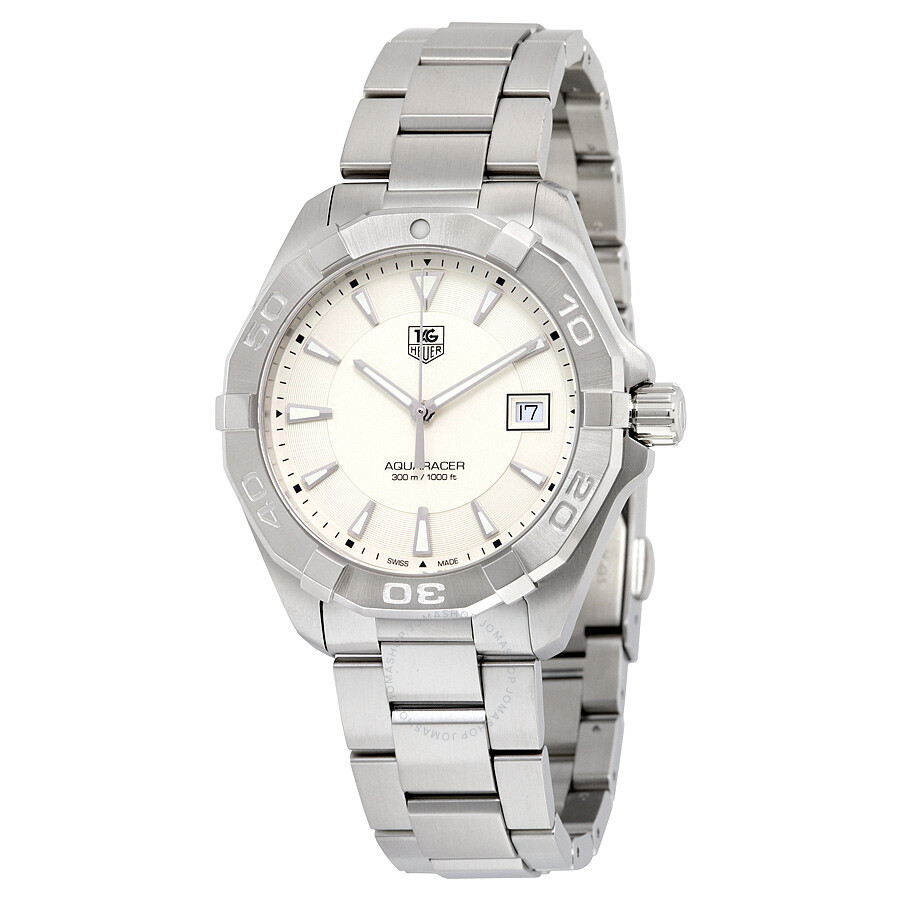 3ace66eff2fef Tag Heuer Aquaracer Silver Dial Men's Watch WAY1111.BA0928 ...