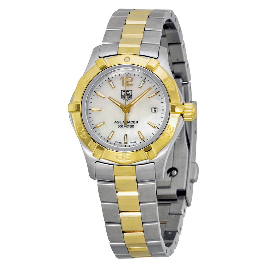 tag heuer aquaracer two tone waf1424 bb0825