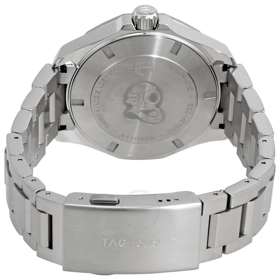 039a9f260694 BA0927 Tag Heuer Aquaracer White Dial Automatic Men s Watch WAY2013.BA0927