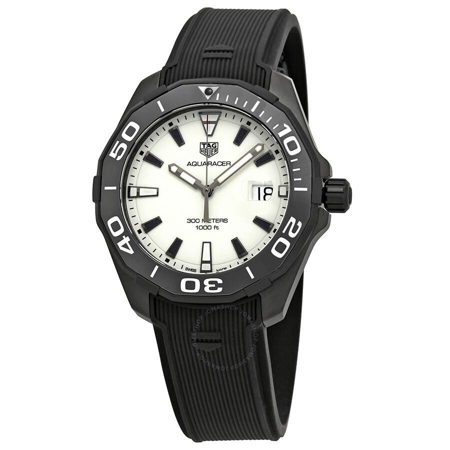 3aa157fba79 Tag Heuer Aquaracer White Dial Men s Watch WAY108A.FT6141 ...