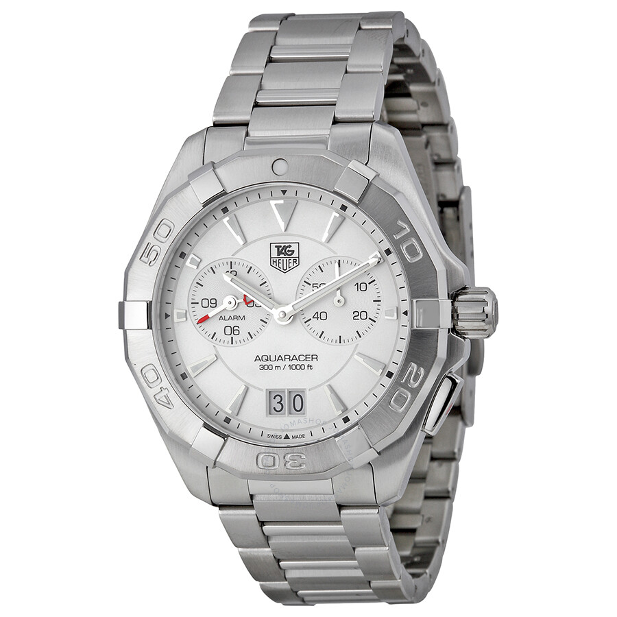 Tag Heuer Aquaracer White Dial Stainless Steel Men's Watch ...