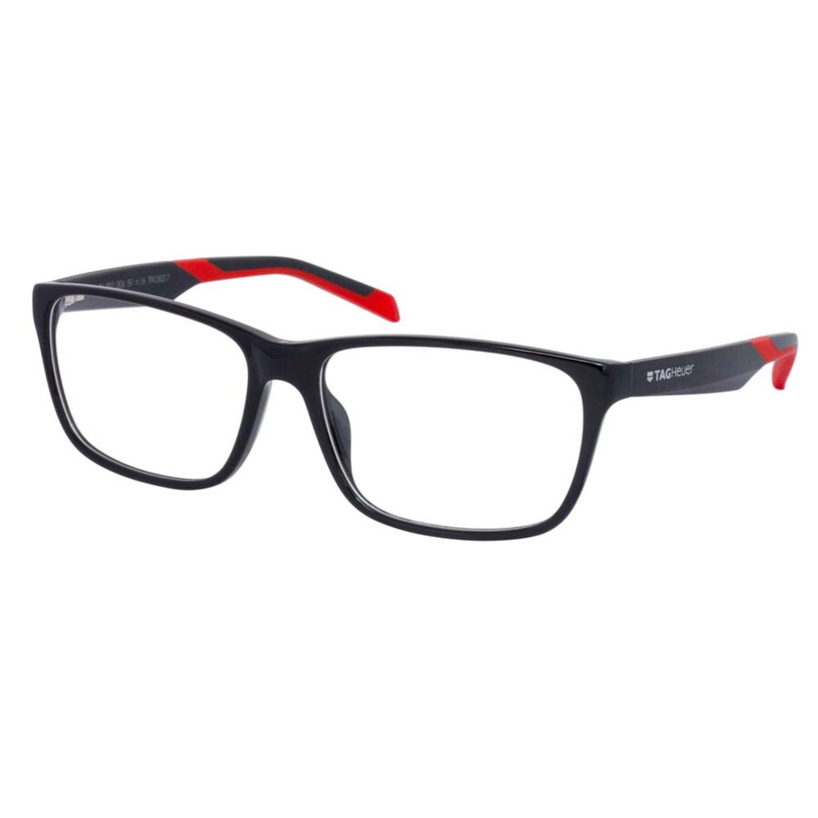 tag heuer black eyeglasses b urban 0552 006 59 tag heuer sunglasses jomashop