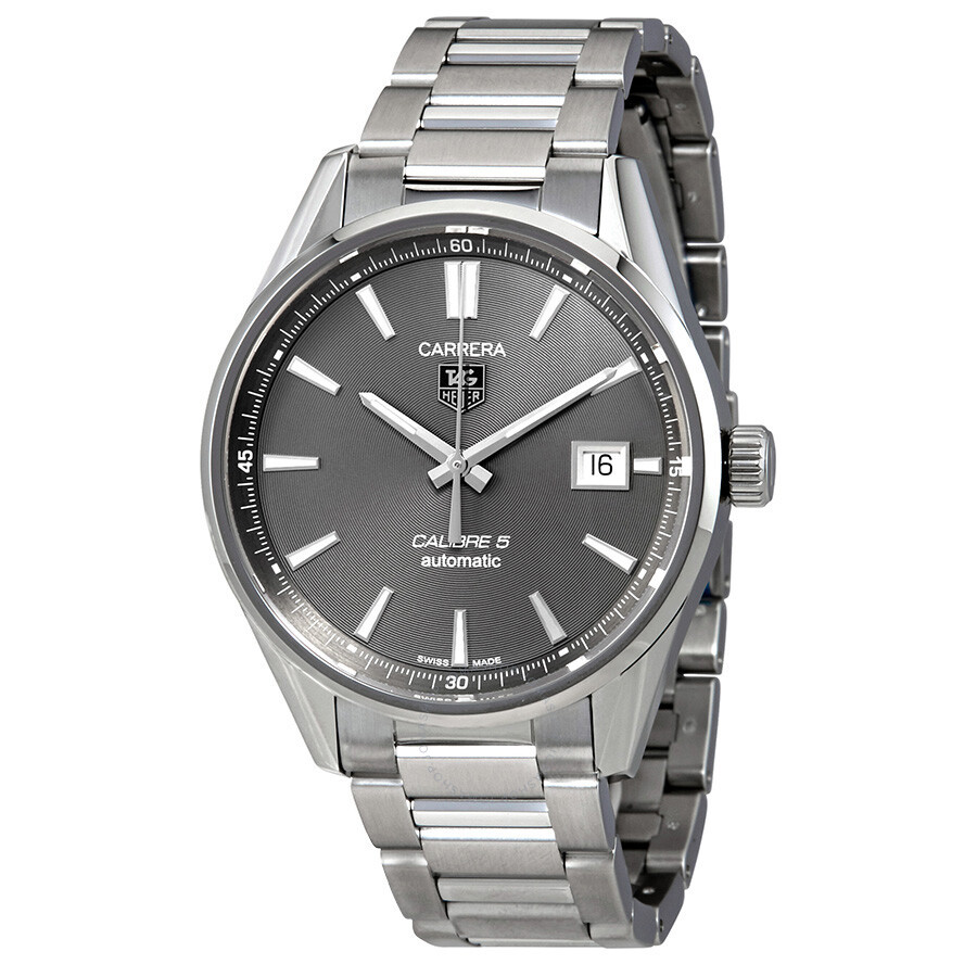 Tag heuer carrera anthracite dial men 39 s watch war211c ba0782 carrera tag heuer watches for Tag heuer c flex