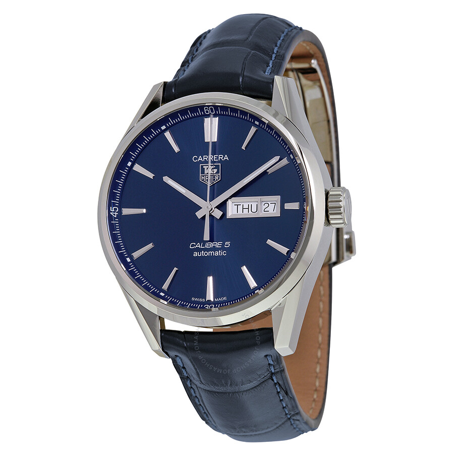 21008c9e7c4fb Tag Heuer Carrera Automatic Blue Dial Men s Watch WAR201E.FC6292 ...