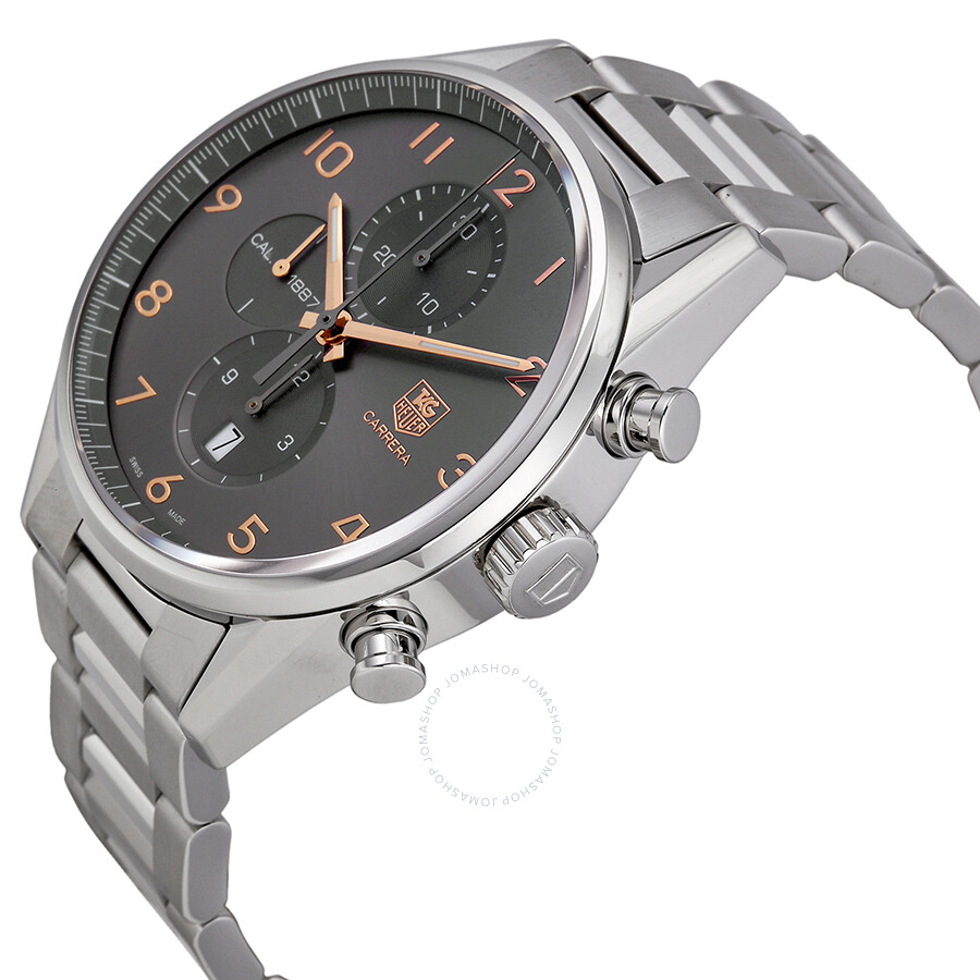 tag heuer carrera automatic chronograph anthracite dial. Black Bedroom Furniture Sets. Home Design Ideas