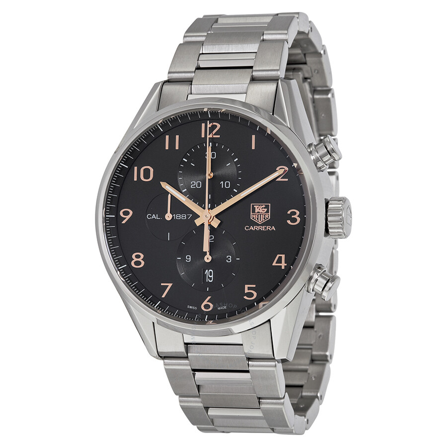 Tag heuer carrera automatic chronograph men 39 s watch car2014 ba0799 carrera tag heuer for Tag heuer automatic