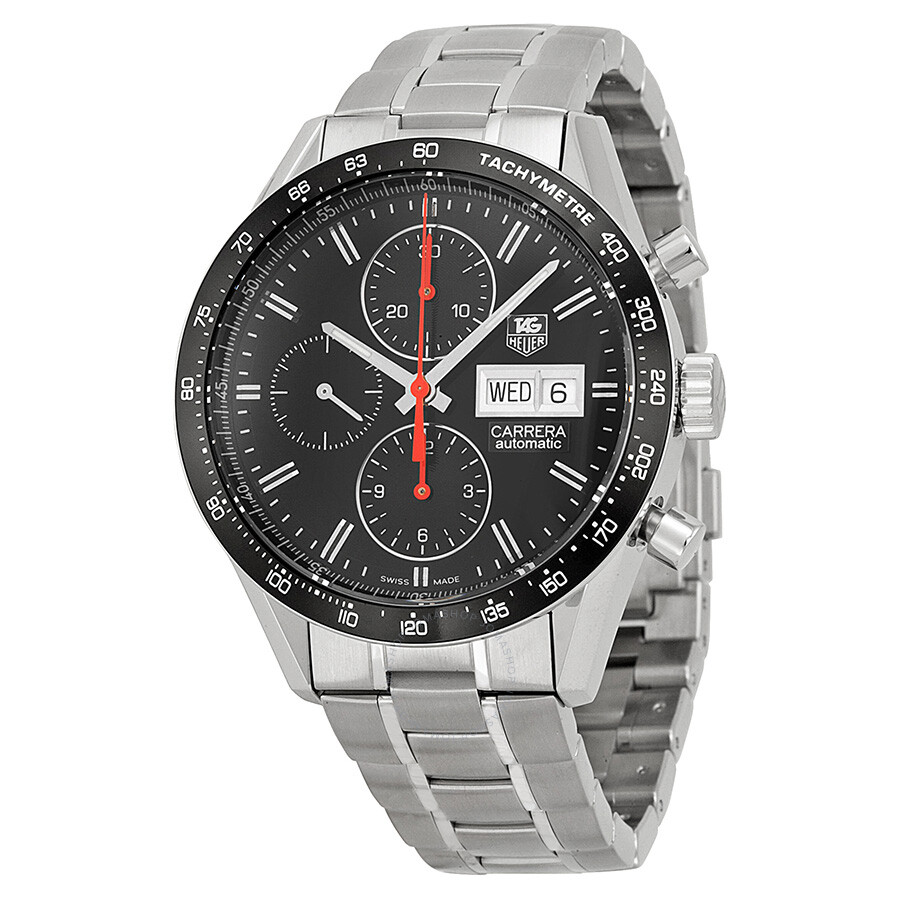 Tag heuer carrera automatic chronograph men 39 s watch cv201ahba0725 carrera tag heuer for Tag heuer chronograph