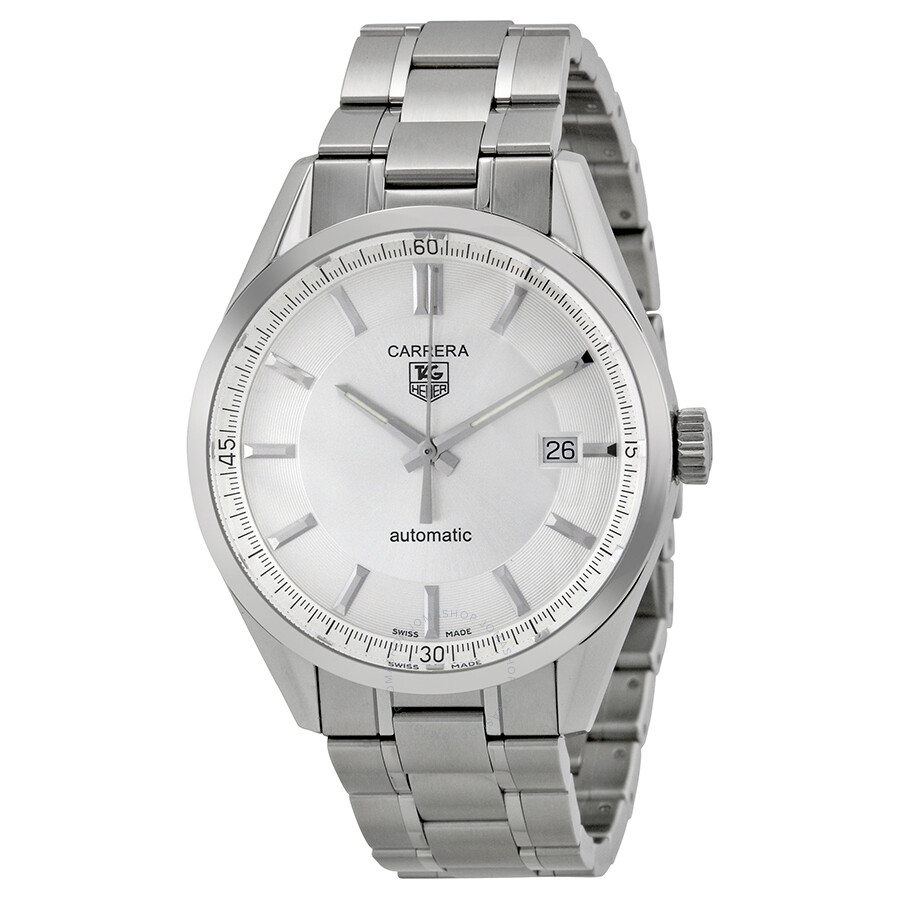 Tag heuer carrera automatic men 39 s watch wv211a ba0787 carrera tag heuer watches jomashop for Tag heuer automatic