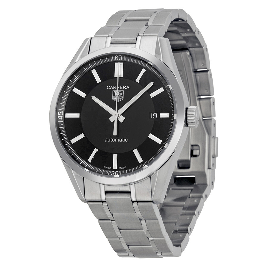 Tag heuer carrera automatic men 39 s watch wv211b ba0787 carrera tag heuer watches jomashop for Tag heuer automatic