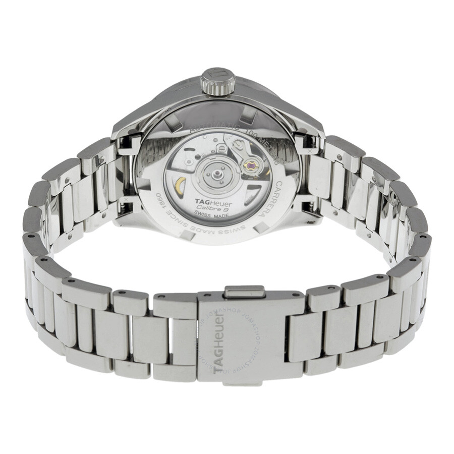 BA0770 Tag Heuer Carrera Automatic Mother of Pearl Diamond Dial Stainless  Steel Ladies Watch WAR2415. eab510308